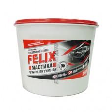 Мастика резино-битум антикор в п/э ведре Felix  2кг