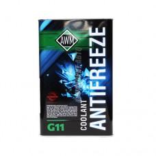 Антифриз ТС  AWM  G-11 зеленый 4кг  в мет.канистре