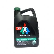 Антифриз ТС  X-FREEZE  GREEN   3л (зеленый)