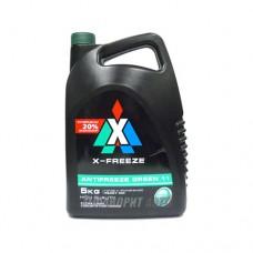 Антифриз ТС  X-FREEZE  GREEN   5л (зеленый)   /4