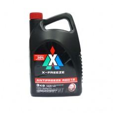 Антифриз ТС  X-FREEZE  RED   3л  (красный)
