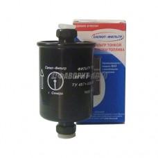 Фильтр топливный ВАЗ-2110 инжектор/металл. в уп. САЛЮТ(299)