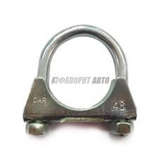 Хомут глушителя DAR тип U 48 М10 0012  #