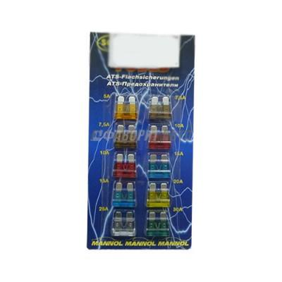 Предохранитель SCT-9503 (10шт) миди (отеч)