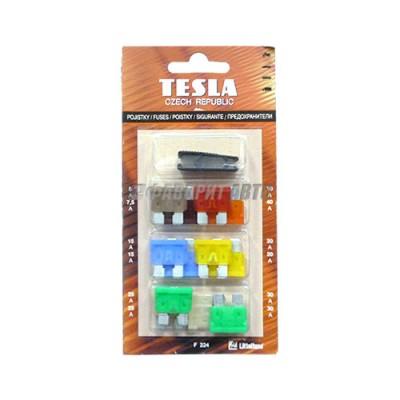 Комплект предохранителей 12 шт серии FT TESLA [F 224]