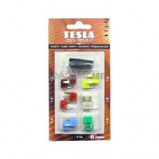 Комплект предохранителей mini серии FN 7,5-30 A (пинцет) TESLA [F116]