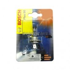 Лампа Bosch 12V  (1042) H7 55W +50%   (1шт в блистере)