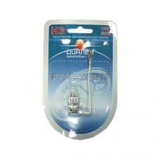 Автолампа Н3 12V 55W PK22s (Блистер) ДиаЛУЧ [127-БЛ] 12553