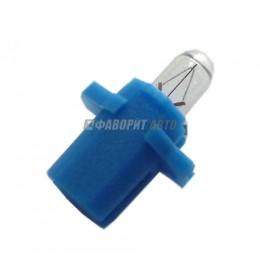 Лампа BAX 12V-2W (BAX8.3s/BAX10s/1,5) blue Narva [17058]