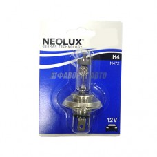 Лампа  H4 60/55W 12V P43T10XBLI1 (64193 01-B) NEOLUX [N472-01B]