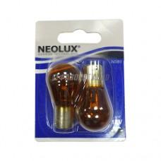 Лампа  PY21W 21W 12V BAU15S 10XBLI2 (7507 02-B) NEOLUX [N581-02B]