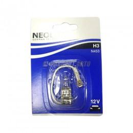 Лампа H3 55W 12V PK22S 10XBLI1 NEOLUX [N453-01B]
