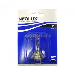 Лампа H7 55W 12V PX26D 10XBLI1 (64210 01-B) NEOLUX [N499-01B]