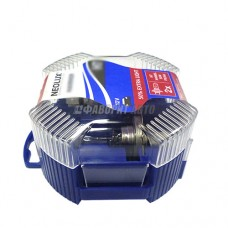 Лампа Н4 (4000К) BLUE LIGHT 60/55W 12V P43T 10X2 [N472B-DUOBOX]