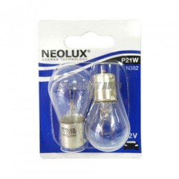 Лампа  P21W 21W 12V BA15S 10XBLI2 (7506 02-B) NEOLUX [N382-02B]