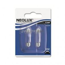 Лампа C5W 5W 12V SV8.5-8 10XBLI2 NEOLUX [N239-02B]