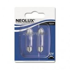 Лампа 10W 12V SV8.5-810XBLI2 NEOLUX [N264-02B]