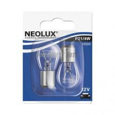 Лампа P21/4W 21/4W 12V BAZ15D 10XBLI2 NEOLUXN566-02B] (7225 02-B)