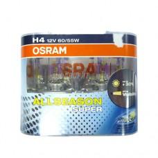Лампа Н4 60/55W 12V P43t  ALS(+30%) всепогодная OSRAM [64193als-HCB]