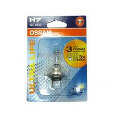 Лампа Н7 12V 55W РХ26d  ULT (блистер) OSRAM [64210ult-01b]