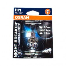 Лампа Н1 55W 12V P14.5S NBU(+110%)  (блистер) OSRAM [64150nbu-01b]  @