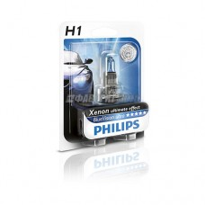 Лампа H1 12V- 55W (P14,5s) Blue Vision Ultra блистер (1шт.) Philips [12258bvub1]
