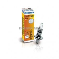 Лампа H1 12V- 55W (P14,5s) ( +30% света) Vision (Premium) Philips [12258prc1]