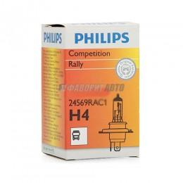 Лампа H4 24V-100/90W (P43t) Rally-тип Philips [24569rac1]