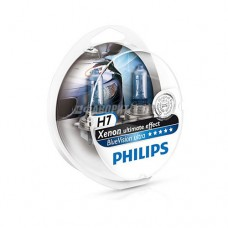 Лампа H7 12V- 55W (PX26d) Blue Vision Ultra (2шт.) Philips [12972bvusm]  @
