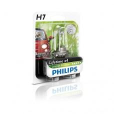 Лампа H7 12V- 55W (PX26d) LongLife EcoVision блистер (1шт.) Philips [12972llecob1]