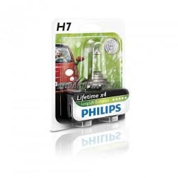 Лампа H7 12V- 55W (PX26d) LongLife EcoVision блистер (1шт.) Philips [12972llecob1]  @