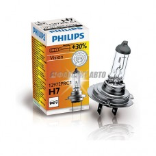 Лампа H7 12V- 55W (PX26d) ( +30% света) Vision (Premium) Philips [12972prc1]