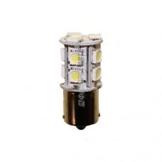 Лампа светодиодная P21W LED 24V BA15S 13x5050