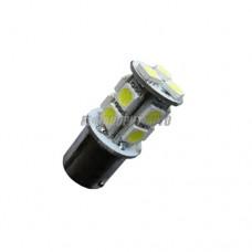 Лампа светодиодная PY21W LED 12V BAU15S 13x5050