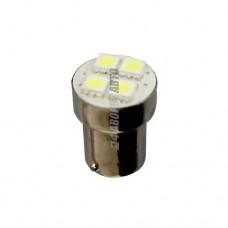 Лампа светодиодная R5W/10W LED 12V BA15S 4x5050 @