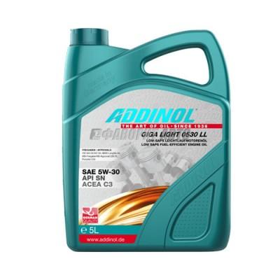 Моторное масло ADDINOL Giga Light 5W-30, 5л, синтетическое