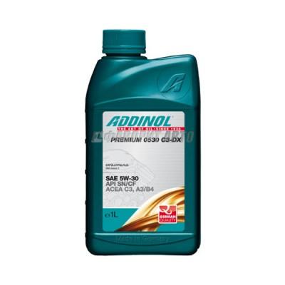 Моторное масло ADDINOL Premium C3-DX  5W-30, 1л, синтетическое
