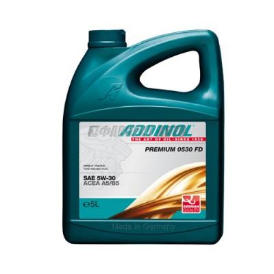 Моторное масло ADDINOL Premium FD 5W-30, 5л, синтетическое