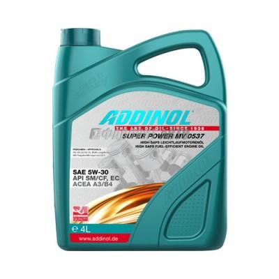 Моторное масло ADDINOL Super Power 5W-30, 4л, синтетическое