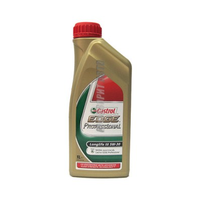Моторное масло CASTROL EDGE Professional SKODA Longlife III 5W-30, синтетическое