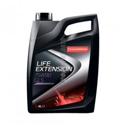 CHAMPION LIFE EXTENSION 75w90 GL-5 4л.