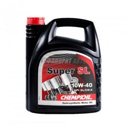 CHEMPIOIL  Super SL  10*40 п/с  4л (SL/CH-4; A3/B3)