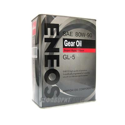 Трансмиссионное масло ENEOS Gear 80W-90, 4л