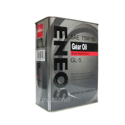 Трансмиссионное масло ENEOS Gear 75W-90, 4л