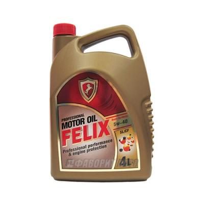Моторное масло FELIX Semi 5W-40, 4л, полусинтетическое