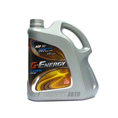Моторное масло G-Energy S Synth 10W-40, 4л, полусинтетическое