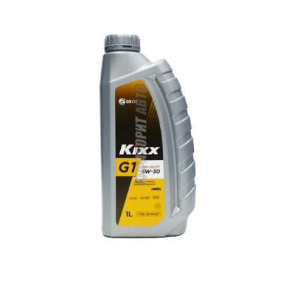 Моторное масло KIXX G1 5W-50, 1л, синтетическое