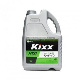 KIXX HD1 10W-40 CI-4/SL   6л  син  (D1)
