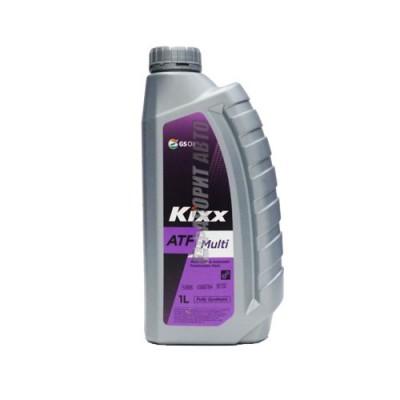 Трансмиссионное масло KIXX ATF Multi Plus, 1л, синтетическое