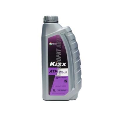 Трансмиссионное масло KIXX ATF DX III, 1л, синтетическое